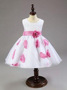 Aliexpress.com: Compre 2015 novos chegada de moda flores meninas bonitos vestido de princesa tulle vestidos crianças tutu para meninas grátis frete de confiança topshop vestidos fornecedores em Dance flying