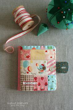 fabric needle book by nanaCompany, via Flickr