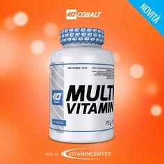 Un buon #multivitaminico è quello che ci serve in questo periodo dell'anno! >> Prova #MULTIVITAMIN di Cobalt Nutrition << Tablets, New Product, Container