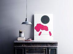 Under The Moon, Office Decor, Online Printing, I Shop, Digital Art, Black And White, Wall Art, Handmade Gifts, Artwork
