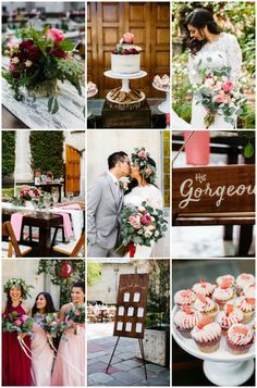 Romantic Garden Wedding (Filled with Flowers and Cake!)