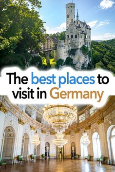 My tips for the best places to visit in Germany. These include the best castles, the best palaces, the best churches, and the best nature. I also have suggestions for the best cities in Germany and the best towns in Germany. Perfect for planning your Germ European Vacation, European Destination, European Travel, Cool Places To Visit, Places To Travel, Travel Destinations, Visit Germany, Germany Travel, Instagram Inspiration