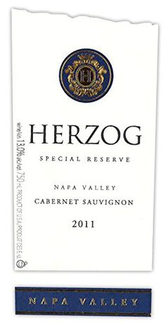 2011 Herzog Special Reserve Napa Valley Cabernet Sauvignon 750 mL * Details can be found by clicking on the image.