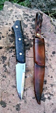 Jaktkniv fulltånge såld