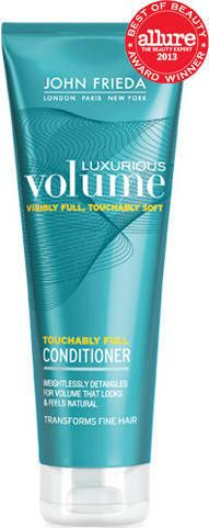 John Frieda Luxurious Volume Touchably Full Conditioner -  An excellent conditioner for fine hair and super affordable too!