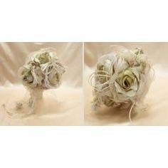 ΧΕΙΡΟΠΟΙΗΤΗ ΝΥΦΙΚΗ ΑΝΘΟΔΕΣΜΗ ΥΦΑΣΜΑΤΙΝΗ - ΚΩΔ:AN01-PL Rings, Floral, Flowers, Jewelry, Jewlery, Jewerly, Ring, Schmuck, Jewelry Rings