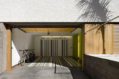modernes reihenmittelhaus garage
