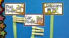 owl classroom ideas | Owl Themed Classroom ideas / Come take a look at my CUTE OWL goodies ...