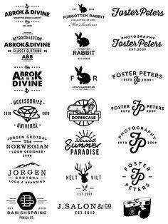Logos by Jorgen Grotdal,