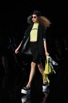Blossomlink by Yuka Ohishi Kate Lanphear, Japanese Fashion, Backpack, Neon, Street Style, My Love, Japan Fashion, Urban Style, Neon Colors