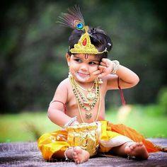 Bal Krishna, Krishna Art, Shree Krishna, Cute Kids, Cute Babies, Cute Baby Boy Images, S8 Wallpaper, Little Krishna, Monthly Baby Photos