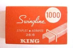 Swingline STAPLES- AGRAFES  26/6 KING USA