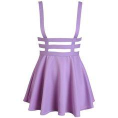 The Lace Kitten (125 BRL) ❤ liked on Polyvore featuring skirts, bottoms, dresses, pastel skater skirt, skater skirt, purple skater skirt, purple skirt and lace skater skirt