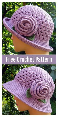 Most Beautiful Crochet Sun Hat Free PatternsSolar Hat with Flower Free Crochet Sample I hope you have enjoyed this beautiful crochet, the free pattern is HERE so you can make a beautiful crochet. Sombrero A Crochet, Crochet Beanie, Knitted Hats, Booties Crochet, Crochet Sun Hats, Crochet Hat For Women, Crochet Headbands, Knit Headband, Baby Headbands