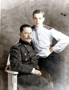 Кн. Владимир Павлович Палей с отцом Павлом Александровичем