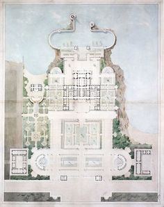 Design for an Imperial Residence, Nice