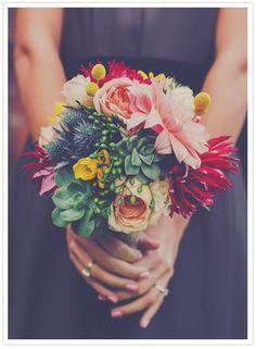 stunning bridesmaid bouquet