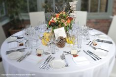 Woodland Inspired Table Setting