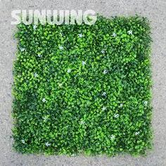 [ $98 OFF ] Outdoor Artificial Boxwood Hedges Panels 12Pcs 50X50Cm Synthetic Flower Fencing Uv Privacy Ivy Fence Wall Home Garden Decoration