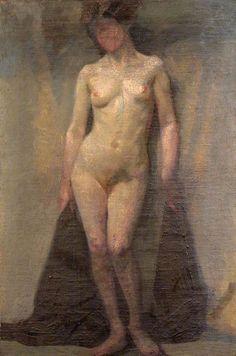 Dora Carrington Better than Picasssos standing nude.
