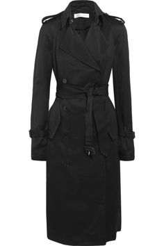 VICTORIA BECKHAM Gabardine Trench Coat. #victoriabeckham #cloth #coats