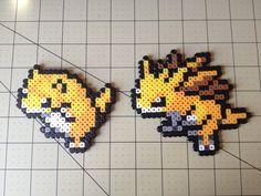 Pokemon Bead Sprite Set  Sandshrew Family by ToughTurtles on Etsy, $5.50