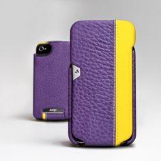 Fab.com   iPhone 4/4S Case Purple/Yellow