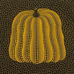 Yayoi Kusama's Pumpkin: dot to dot veggie or metaphor for obliteration?
