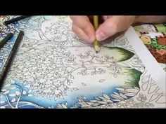 Jardim Secreto Galeria - Secret Garden Gallery - Johanna Basford - YouTube