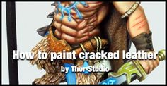 Great tutorial about how to paint cracked leather in a very realistic way, yet easy to follow and achieve. This tutorial comes from Thor Studio, amazing Thai artist with impressive stuff.
