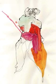 Modeconnect.com - Fashion Illustration by Timi Hayek