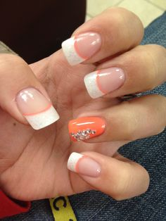my prom nails <33