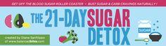 The 21-Day Sugar Detox | Stop je trek in suiker & koolhydraten op een natuurlijke manier d.m.v. voeding. - volgen via @The21DaySugarDetox