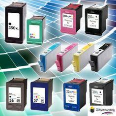 Cartridges voor HP printers voor 29,95 incl. verzendkosten (huismerk)