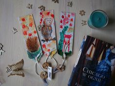 #autumn #animals #bookmark #bookmarks #watercolour #akwarele #zakładki Autumn Animals, Bookmarks, Hand Drawn, Watercolour, How To Draw Hands, Wordpress, Hand Painted, Personalized Items, Handmade