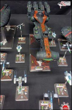 Rebel fleet repaint