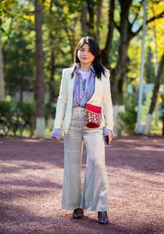 Co se nosilo během týdne módy v Tbilisi Duster Coat, Polo, Street Style, Jackets, Fashion, Down Jackets, Moda, Polos, Urban Taste
