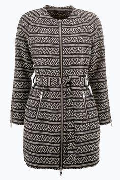 Ellos Collection Frakke med lynlås