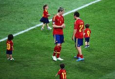 We've been speculating whether the Spanish NT would have been as good if this had been their starting line-up. Conclusion? Probably.