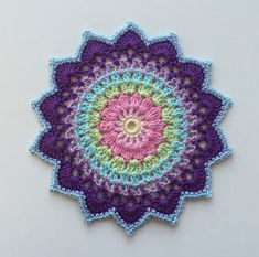 Mandalas In Crochet - Free Crochet Patterns