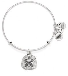 Alex and Ani... Sand Dollar Charm Bangle
