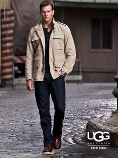 Tom Brady UGG for Men campaign image 800x1076 UGG Australia Features Football Star Tom Brady for their Fall/Winter 2012 Campaign