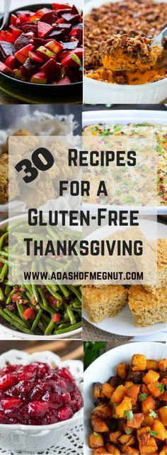 30 Recipes For a Gluten-Free Thanksgiving