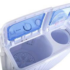 Panda Portable Small Compact Twin Tub Washing Machine
