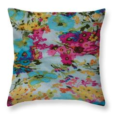 5027 Throw Pillow featuring the digital art 5027 by Aileen Griffin