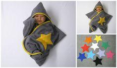 stern star baby wrap kapuzenhandtuch wickeltuch bademantel badetuch frottee von…
