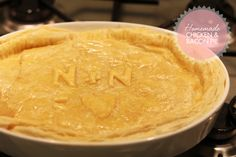 My Chicken & Bacon pie recipe. Easy bacon and chicken pie recipe, cooking
