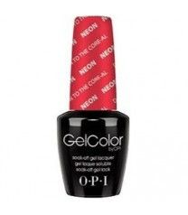 OPI GelColor Neon Down To The Core-Al #N38