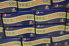 Even Pepsi incorporated 'eh' in their Olympic branding.