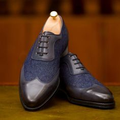 http://chicerman.com  jfitzpatrickfootwear:  A bit of denim goes a long way. The Rainier in Shaded Navy/Denim.  #jfitzpatrick #jfitzpatrickfootwear #jfitzpatrickshoes #twotonedshoes #oxfords #adelaides #denim #denimporn #dressshoes #mensshoes #mensstyle #mensfashion #menswear #fashion #styleformen #style #shoes #shoestagram #shoeporn #scarpe #zapatos #estilo #stile #theshoesnob #theshoesnob84 #chaussures  #menshoes